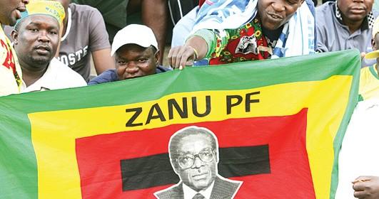 ZANU-PF-supporters