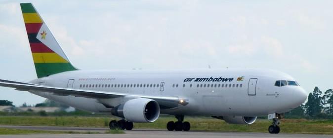 Air Zimbabwe  flight arriving (1)