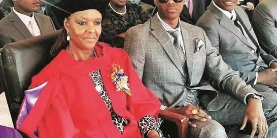 Grace Mugabe Doctorate
