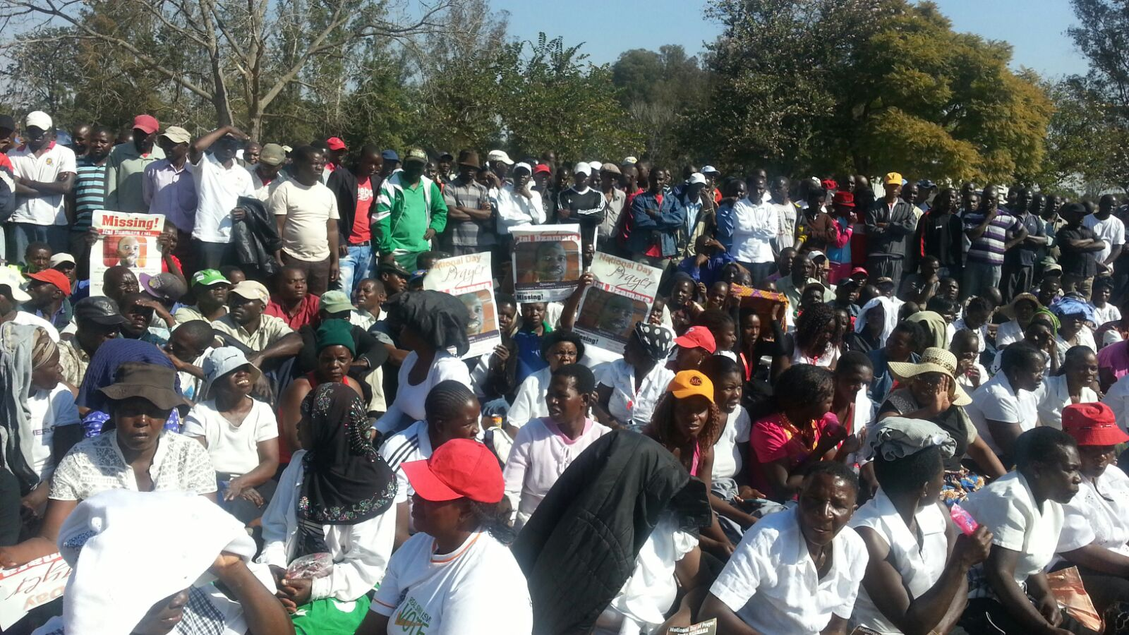 Bring Back 'Itai  Dzamara'- Prayer Meeting Photos