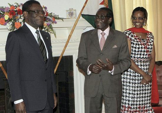 'Mugabe And President Teodoro Obiang Nguema Mbasogo Shadowy Cash Deals'