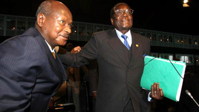 Former Ugandan Prime Minister , Challenging  President Yoweri Museveni, Is  Arrested,