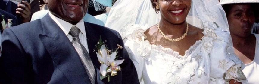 Robert Grace Mugabe First Lady Was Yesterday Showered