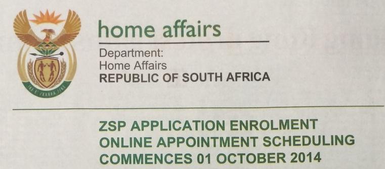 Zimbabwe Dispensation Permits Collection Deadline Is  30 September 2015