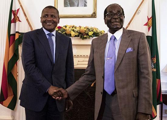 Mutumwa Mawere Warns Billionaire Dangote, He's Risking Fortune With Unpredictable Mugabe