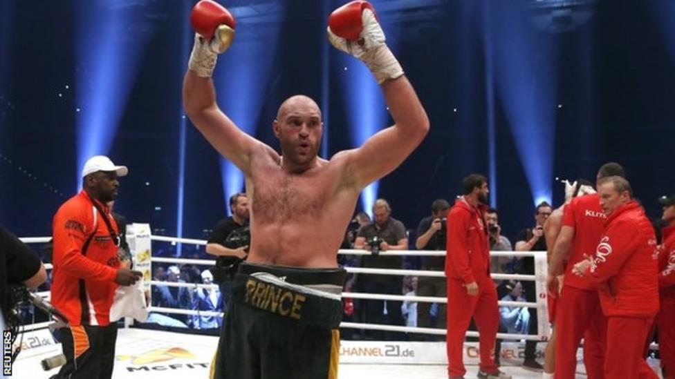 Britain's Tyson Fury Beats Wladimir Klitschko To Become World Champion