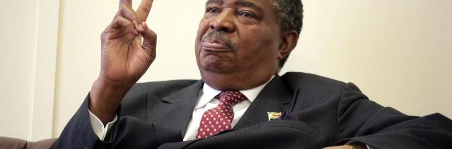 Vice President Phelekezela Mphoko speaks to The Sunday Mail during the interview last week. - Picture: Believe Nyakudjara