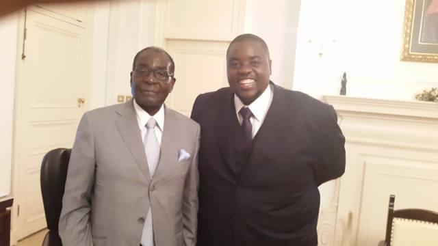 'President Mugabe Is  Refuge For Dodgy Dealers Out To Hide Criminal Activity'