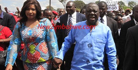 Tsvangirai wife