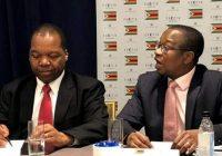 'MTHULI NCUBE AND JOHN MANDUDYA DISAGREEMENT on re introduction of Zimdollar currency'