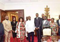 """Met Uebert Angel, a televangelist and businessman, who is founder of Spirit Embassy in the UK and Bro""  President Yoweri Kaguta Museveni   on Twitter."
